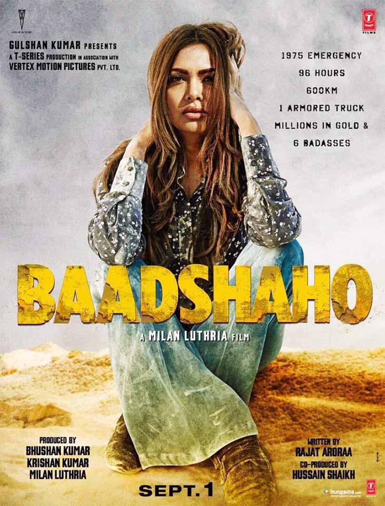 Esha Gupta's first look from Baadshao