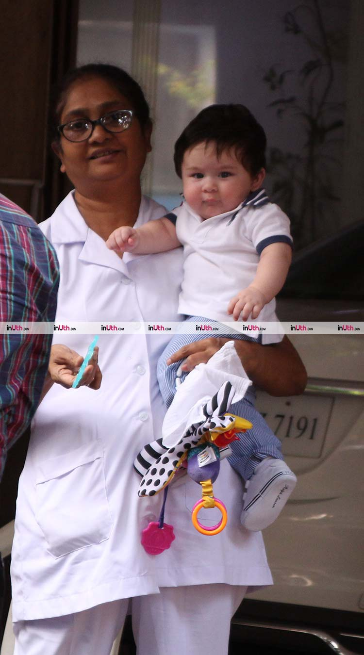 Kareena Kapoor is passing on her shoe fetish to little Taimur