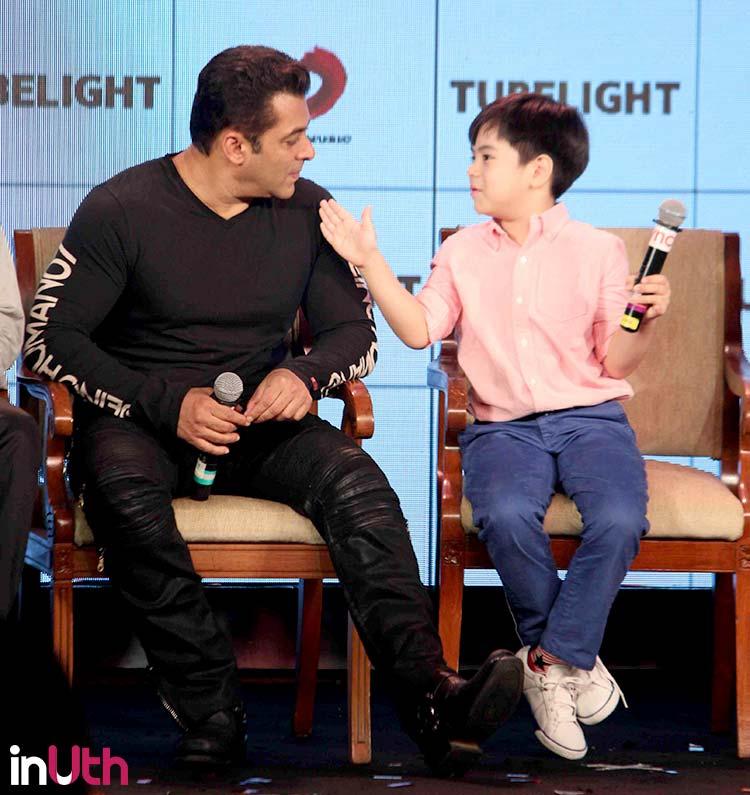 Matin Rey Tangu and Salman Khan promote Tubelight