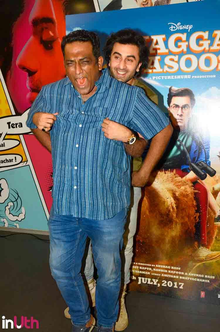 Ranbir kapoor on jagga jasoos i katrina kaif anurag basu have worked very hard on it the indian express - Ranbir Kapoor With Anurag Basu At Jagga Jasoos Promotions