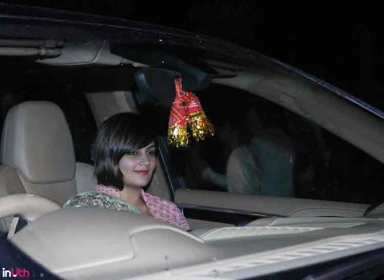 Shweta Rohira at Salman Khan's Eid party