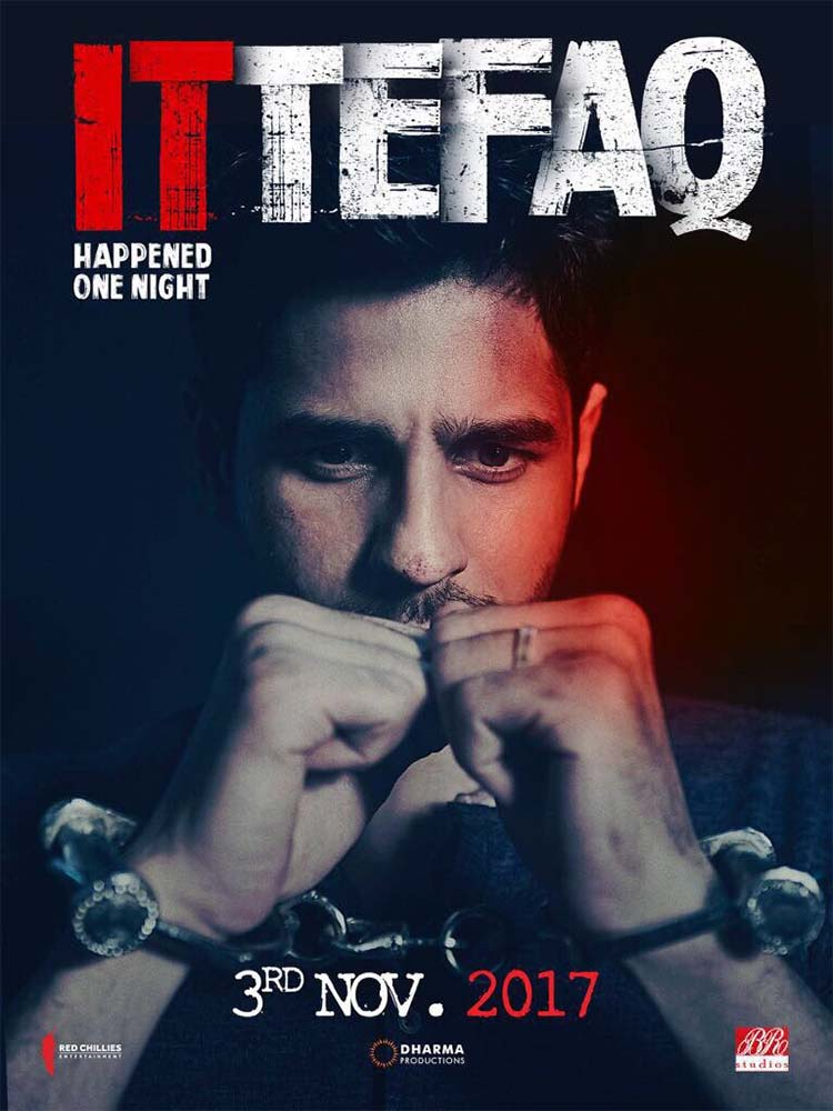 Sidharth Malhotra on It Happened One Night first look poster