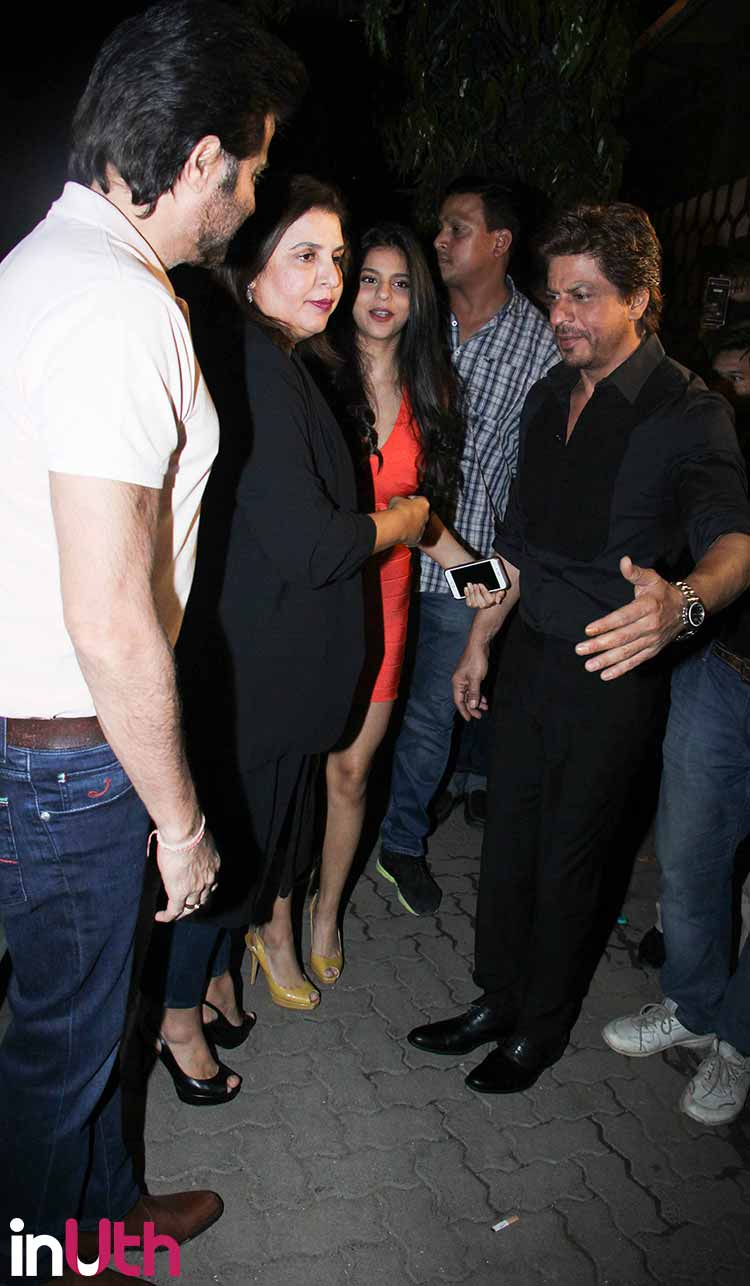 Suhana Khan with Farah Ali Khan and Arth launch event
