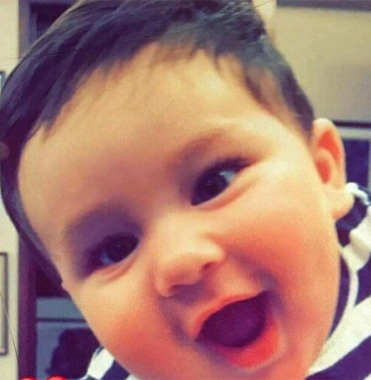 Taimur has got the brightest of the smiles