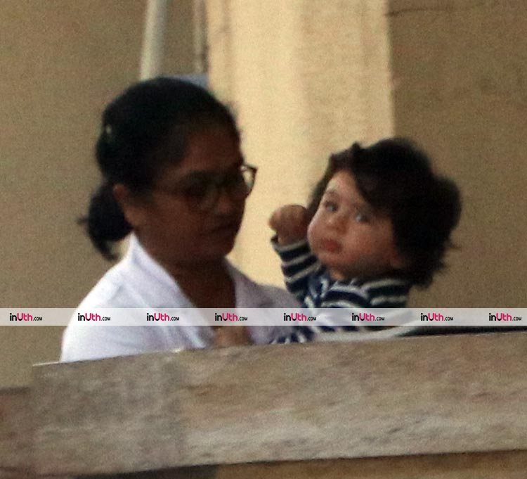 Taimur once again taking our hearts away