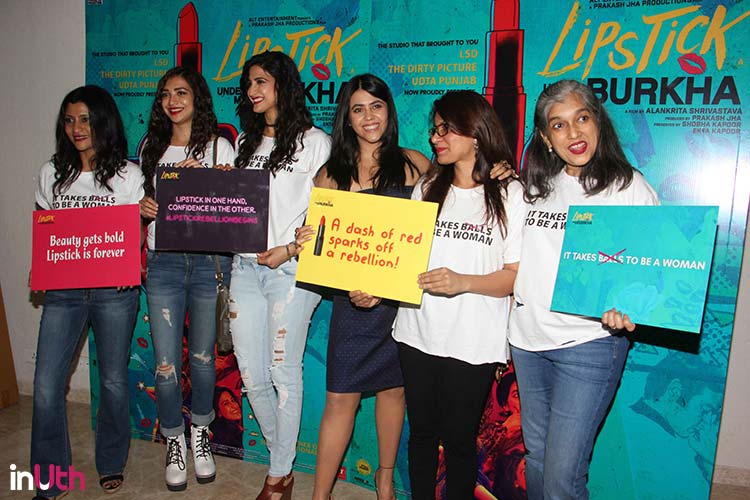 Team Lipstick Under My Burkha are rebelling against the society