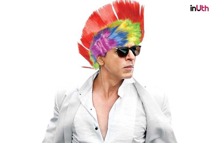 Shah rukh khan Photshopped image for Inuth