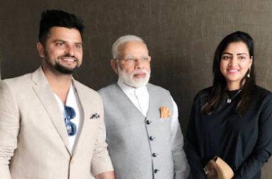 Modi meets Raina
