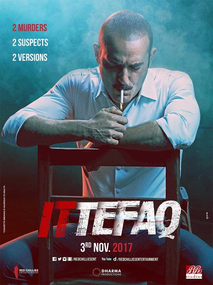 Akshaye Khanna looks like he means business in the new Ittefaq poster