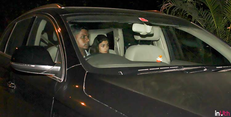 Alia Bhatt spotted outside Sidharth Malhotra's house