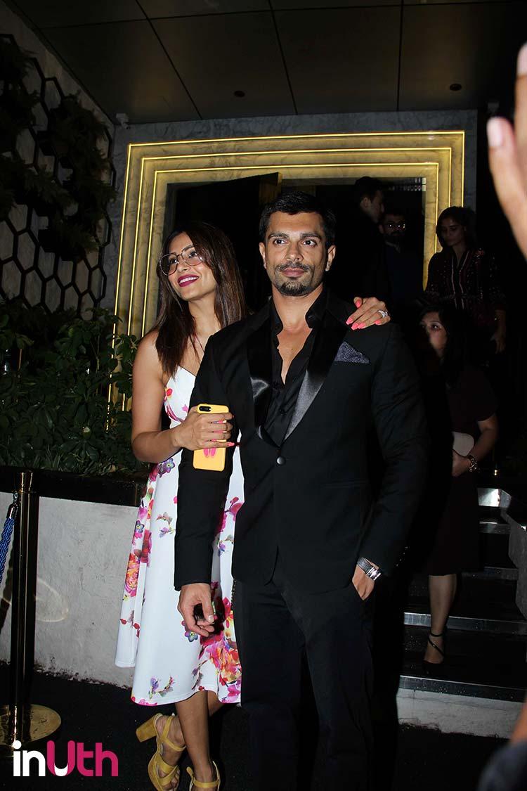 Bipasha Basu and Karan Singh Grover on a dinner date