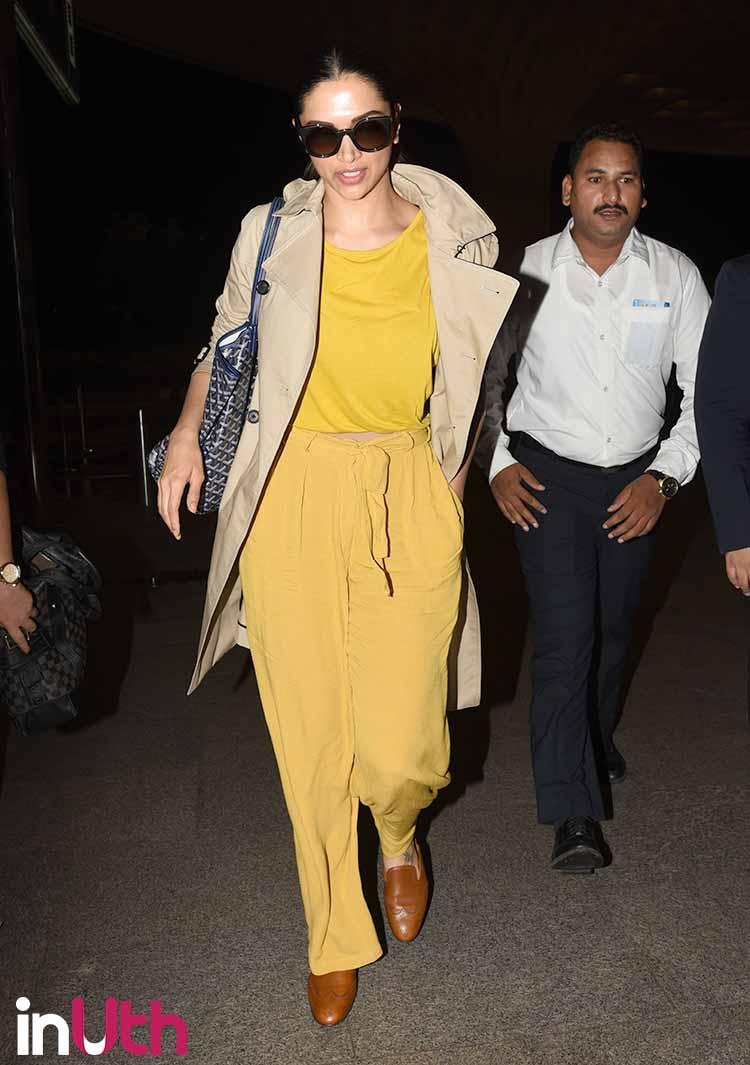 Deepika Padukone slaying in her airport look