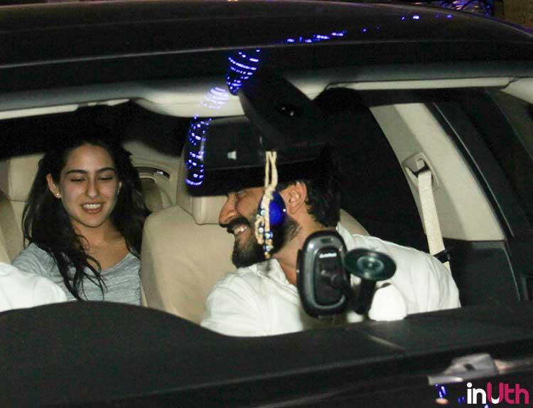 Sara Ali Khan with Harshvardhan Kapoor