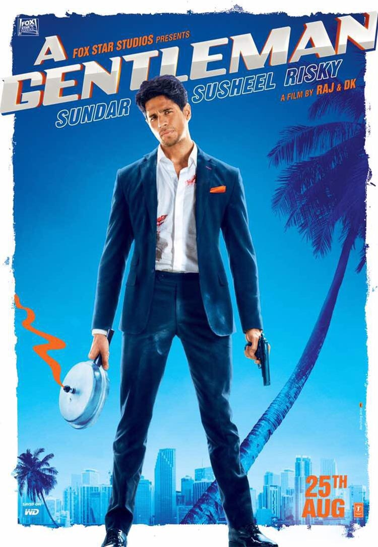 Sidharth Malhotra's first look from A Gentleman