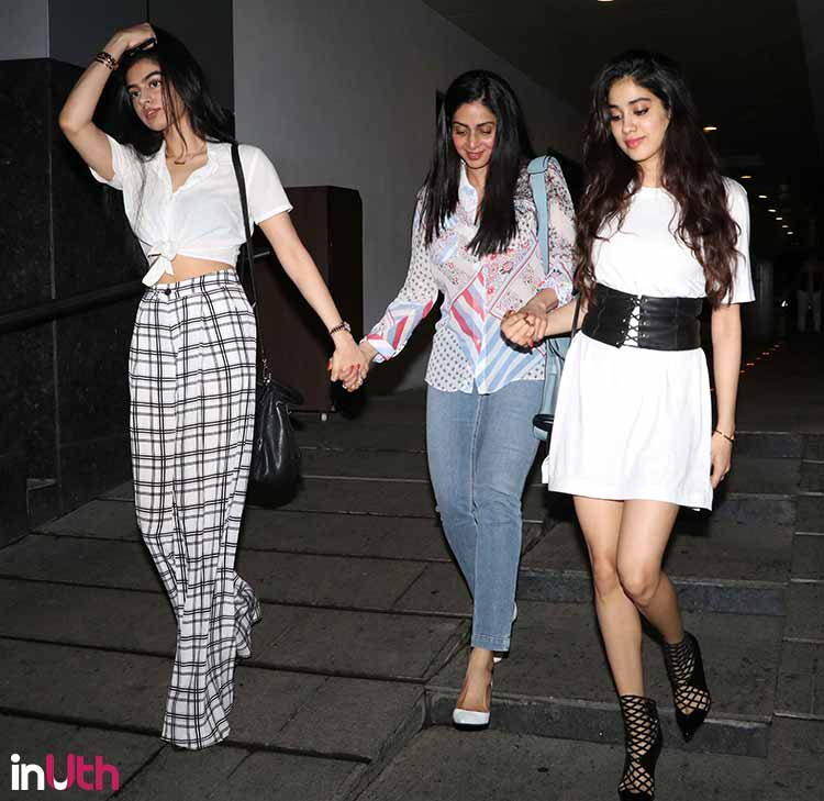 Sridevi and daughters are oh so sexy like ever