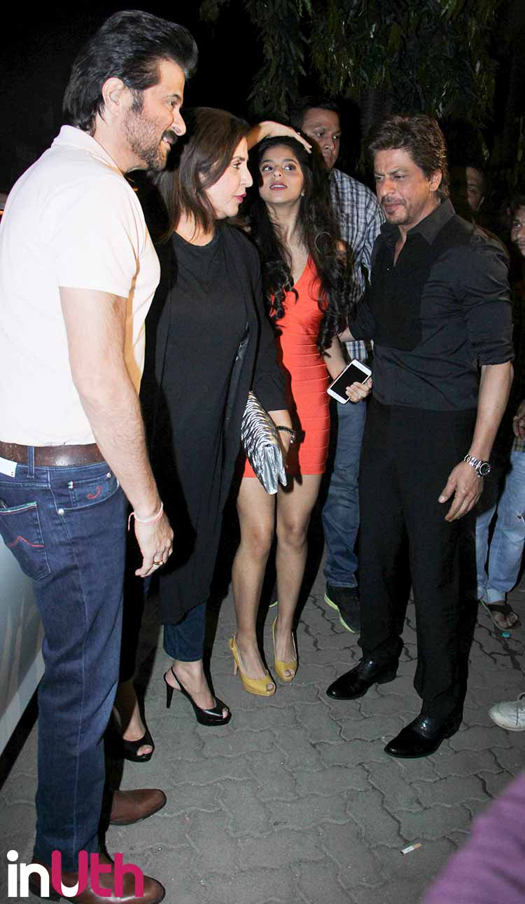 Suhana Khan at the launch of Arth lounge bar