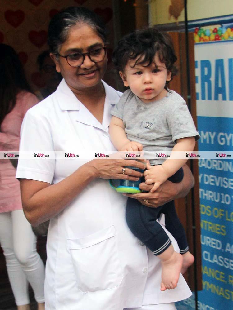 Taimur Ali Khan is a darling baby
