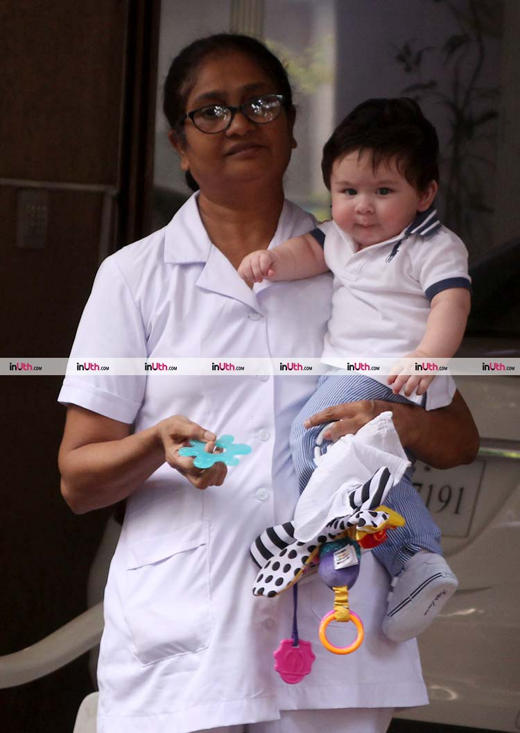 Taimur Ali Khan is oozing adorableness in this frame