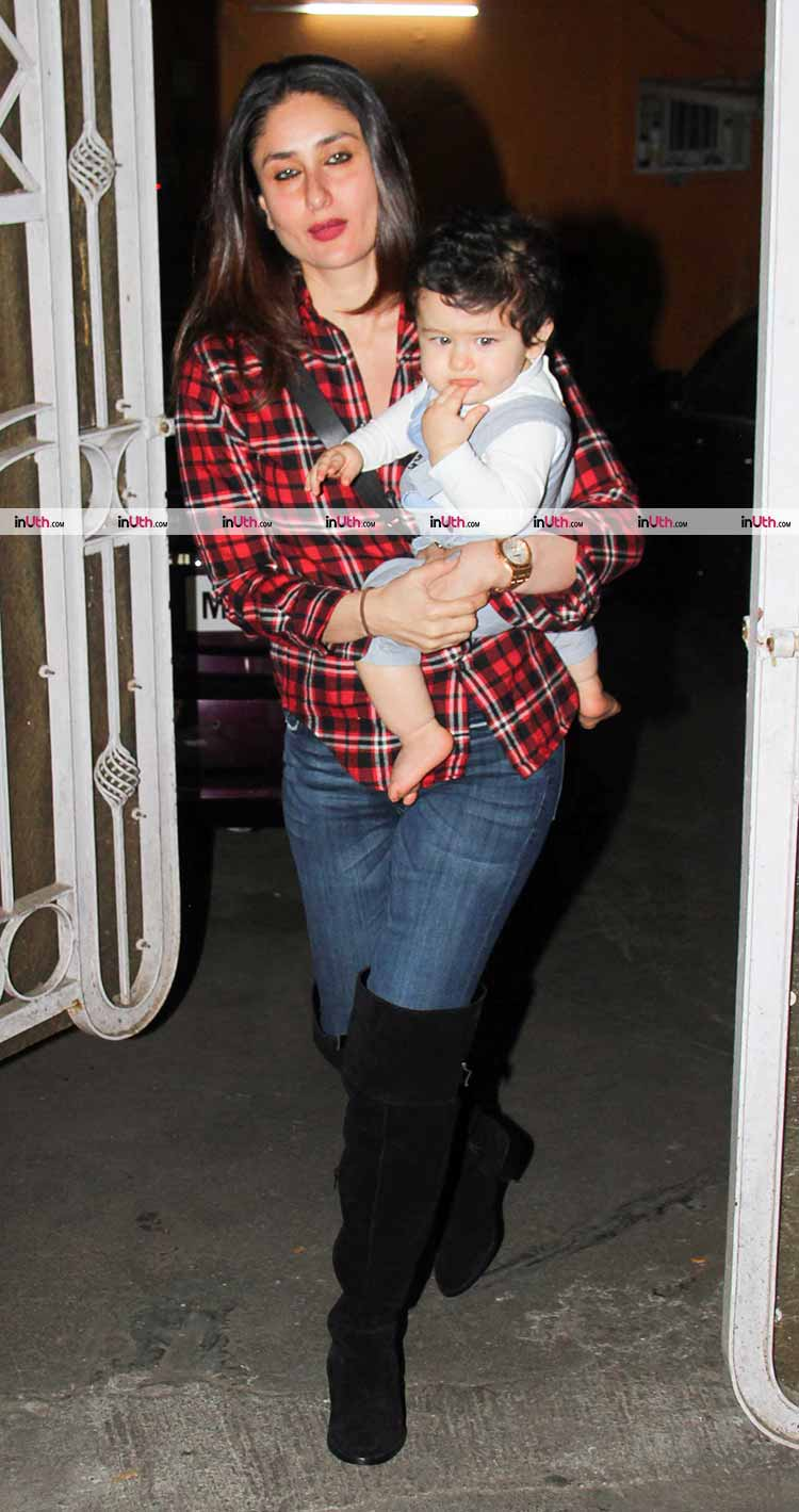 Taimur Ali Khan spotted going out for a playdate with mommy Kareena Kapoor