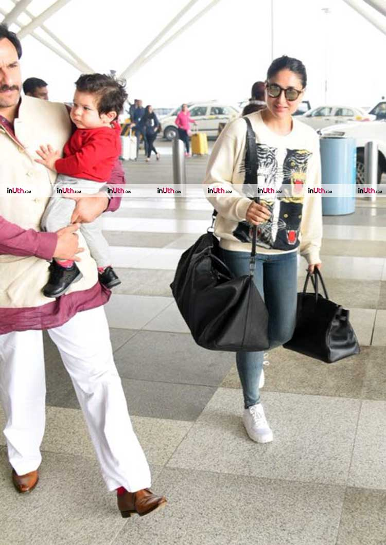 Taimur comes back home after first birthday celebrations