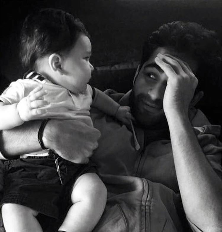 Taimur looks super cute in this pic shared by Armaan Jain
