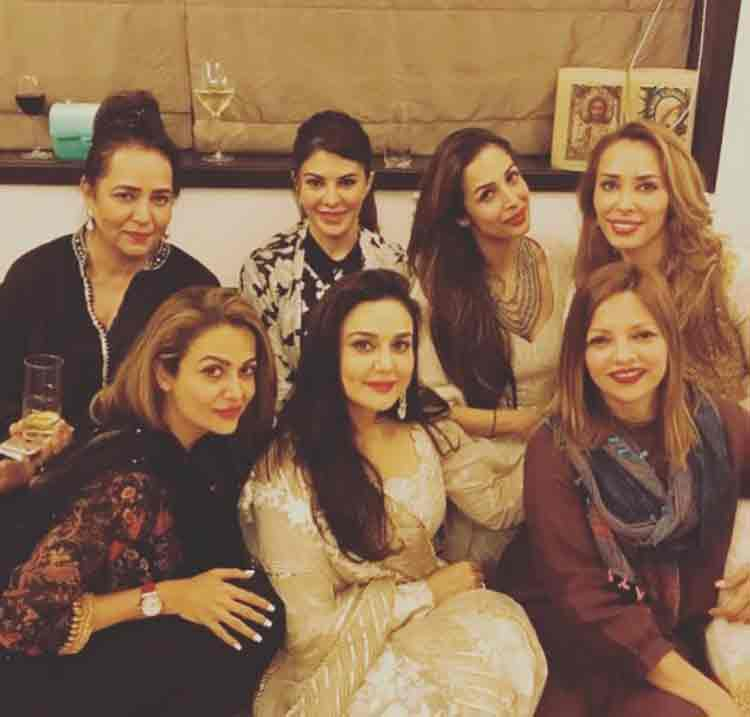 The beautiful girl gang at Salman Khan's Eid party