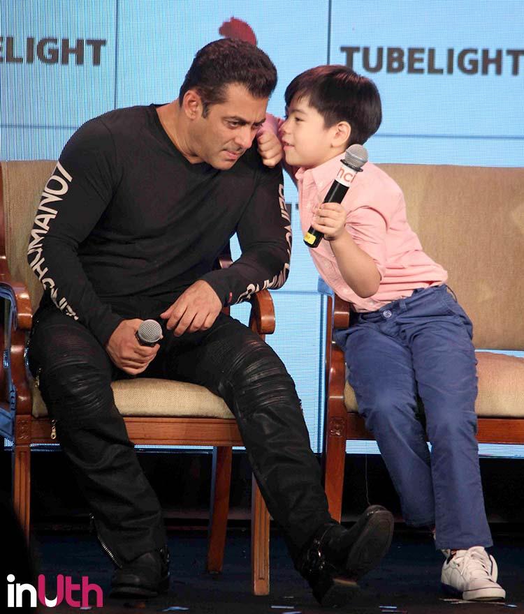 Tubelight co-stars Matin Rey Tangu and Salman Khan indulge in a conversation
