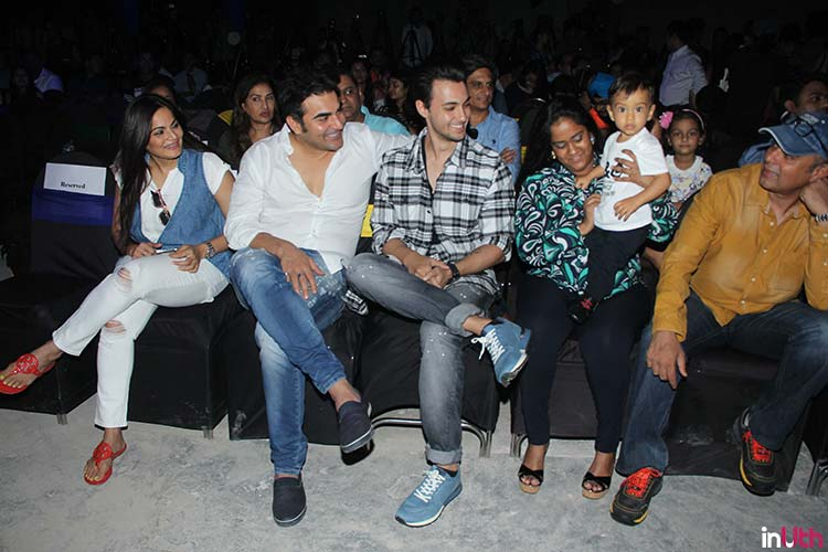 Ahil being the superstar at Being Human bike launch