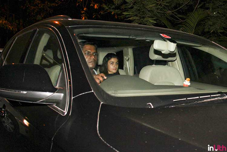 Alia Bhatt goes to meet Sidharth Malhotra