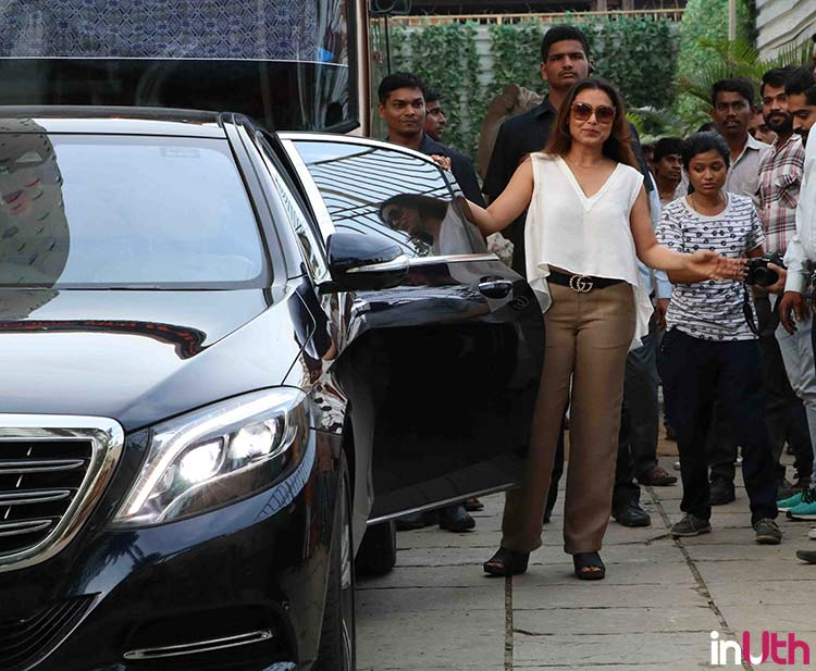 Rani Mukerjee shooting for Yash Raj Films' Hichki