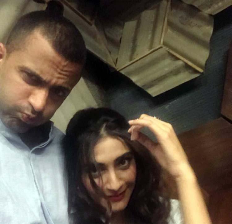 Sonam Kapoor and rumored boyfriend Anand Ahuja's crazy Sunday