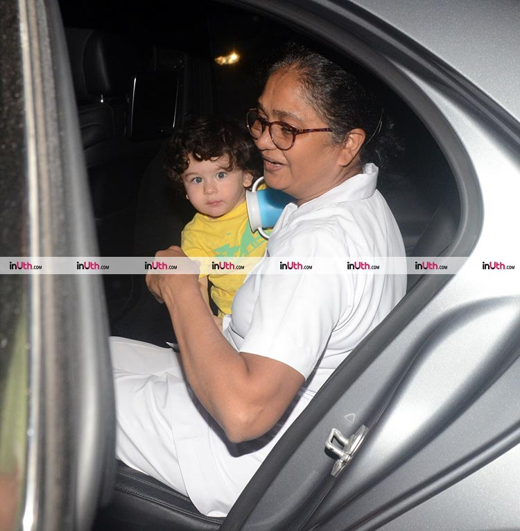 Taimur's cuteness is multiplying by second