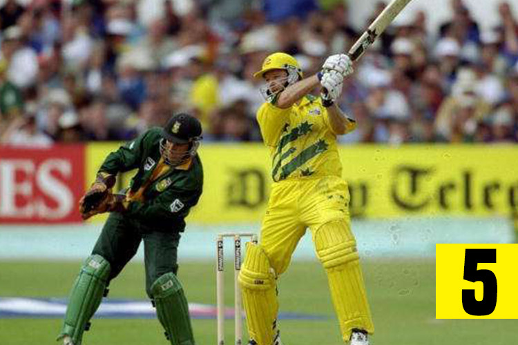 Steve Waugh, Cricket Records, Most not outs
