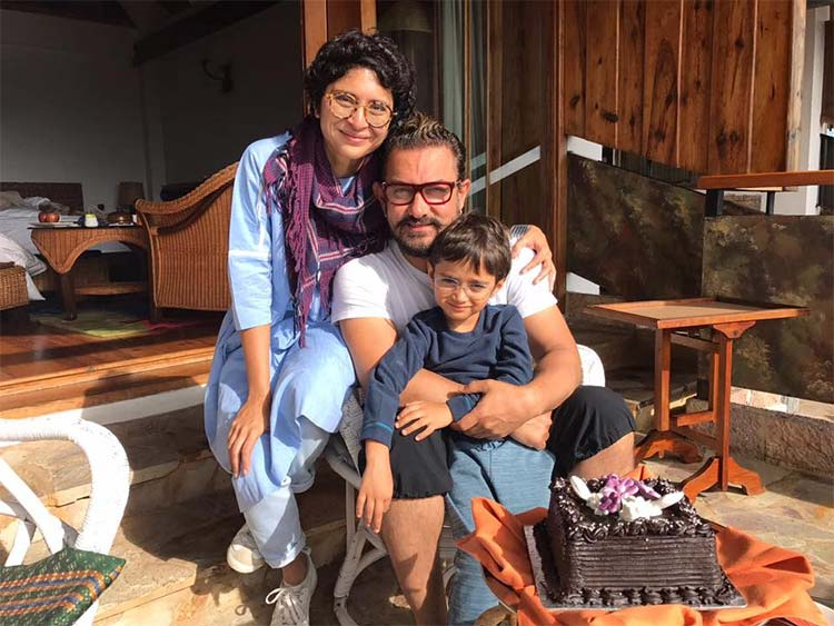 Aamir Khan and Kiran Rao's son Azad Rao Khan