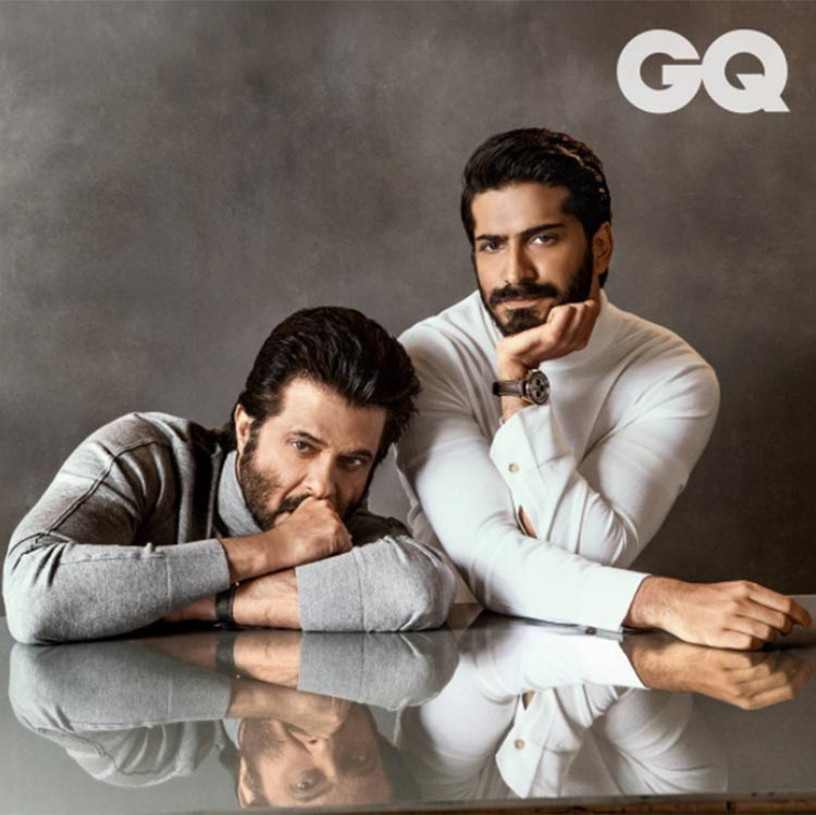 Anil and Harshvardhan Kapoor shoot for GQ Magazine