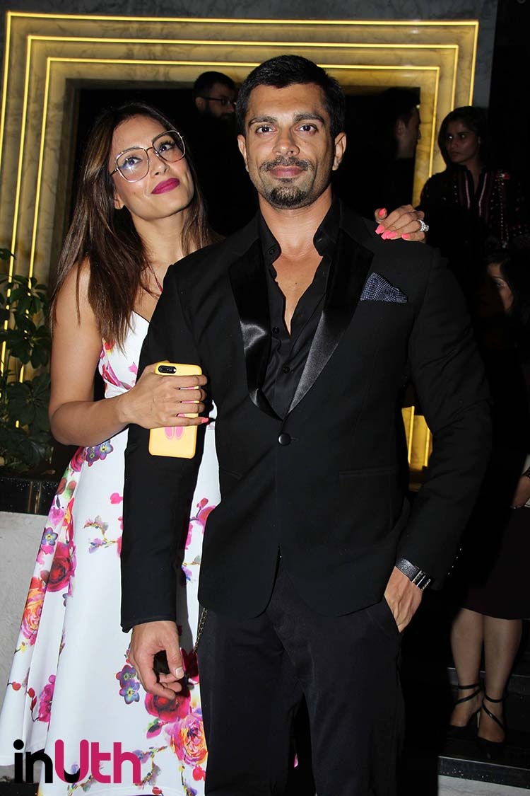 Bipasha Basu and Karan Singh Grover spotted at Arth restaurant