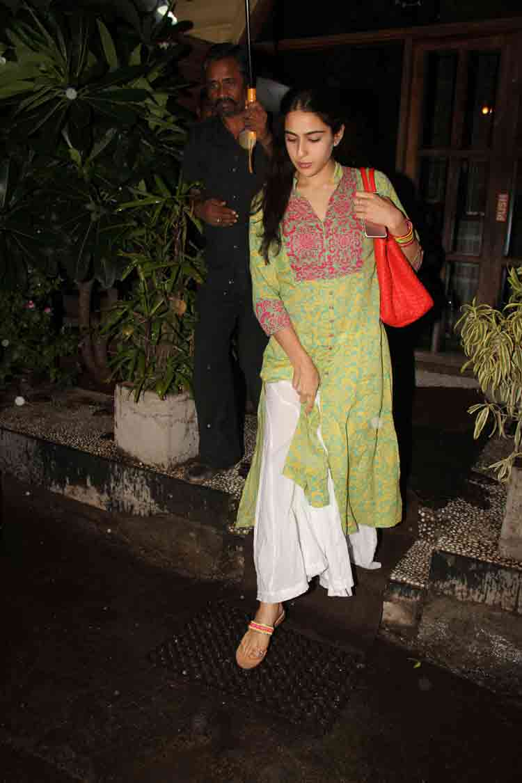 Sara Ali Khan goes for a night out