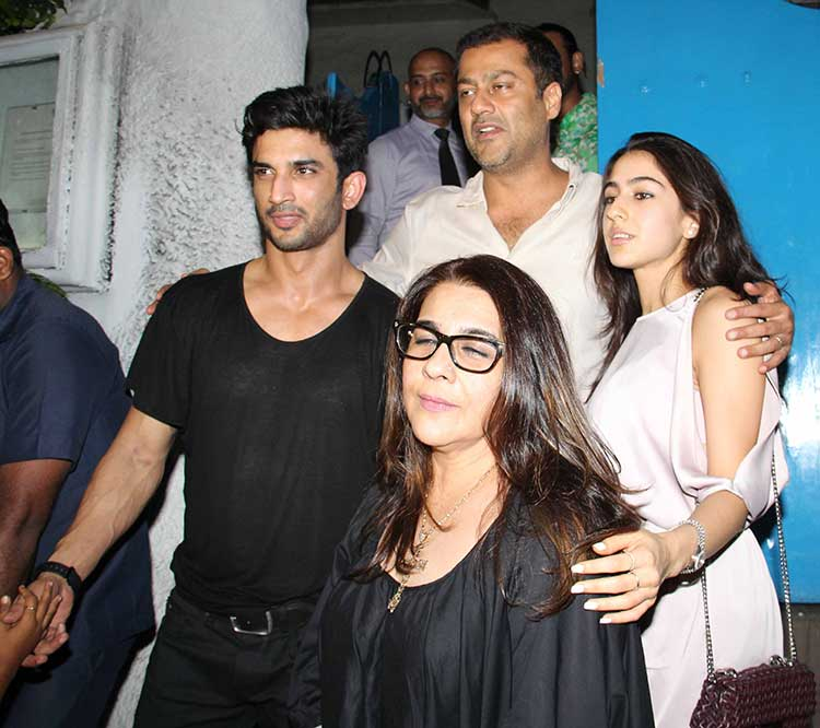 Sara Ali Khan is all set for her Bollywood debut