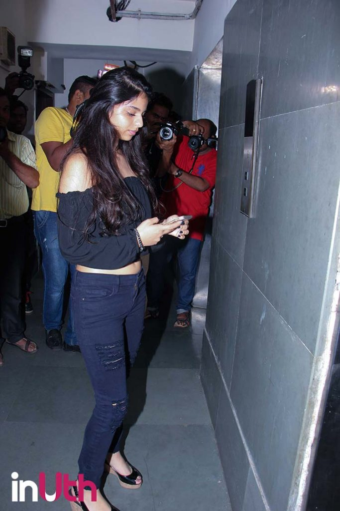 Suhana Khan at the screening of Tubelight