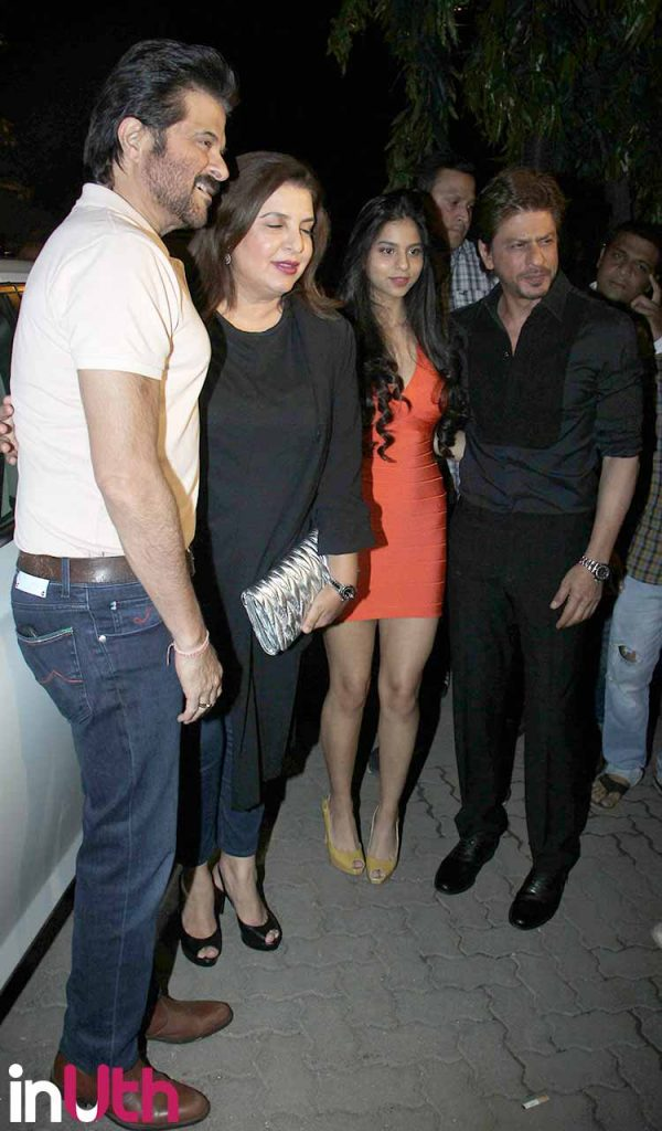 Suhana Khan with Bollywood stars at Arth launch event