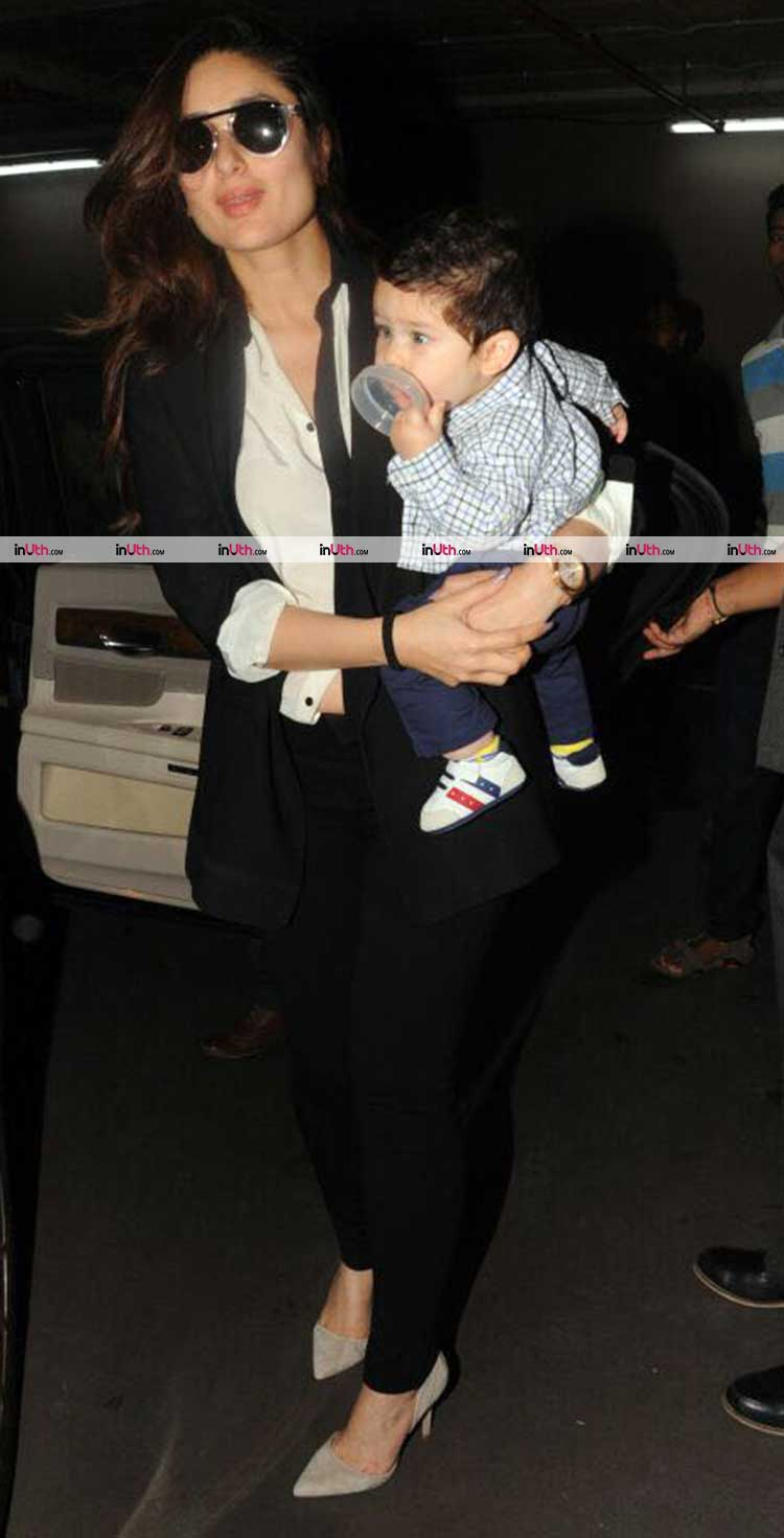 Taimur Khan looks cute beyond words in this picture