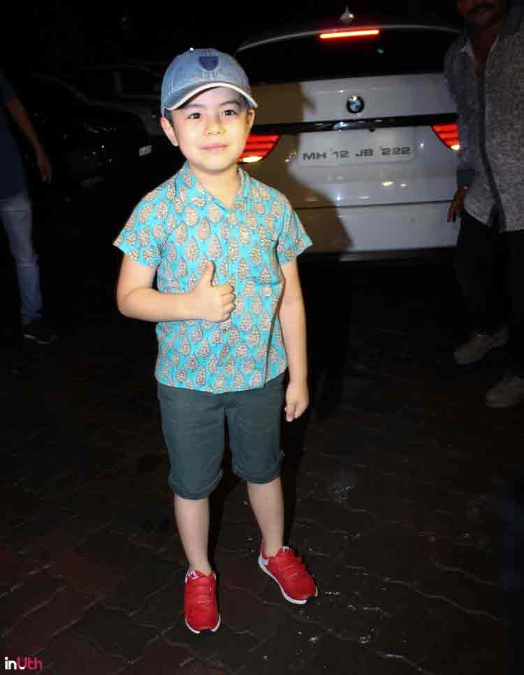 Tubelight child star Matin Rey Tangu at Salman Khan's Eid party