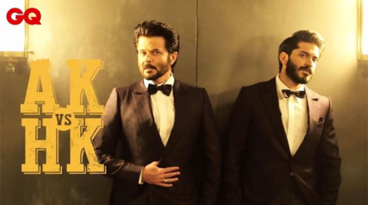It is Anil Kapoor v/s Harshvardhan in GQ's next edition