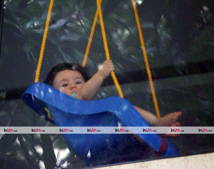 Saif Ali Khan's son Taimur is the cutest child ever