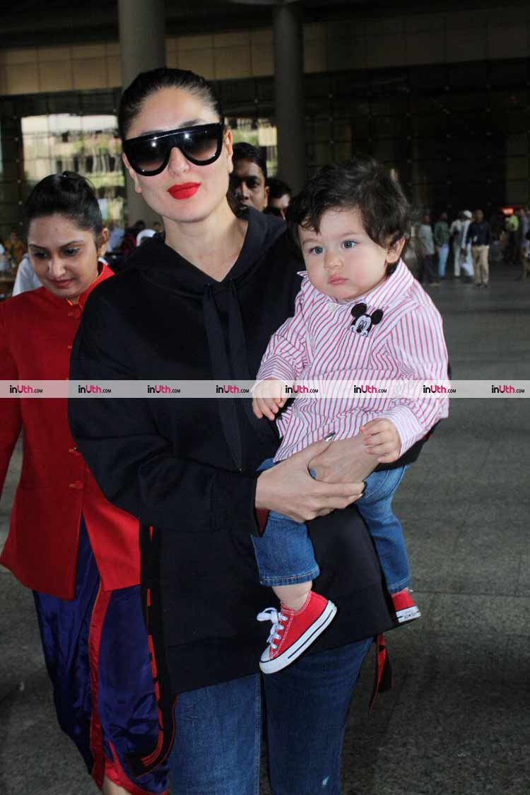 Taimur looks like a doll in mamma Kareena Kapoor's arms