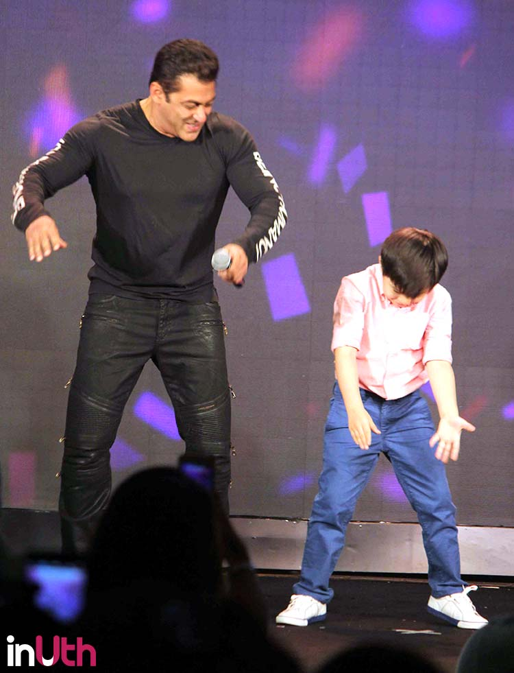 Tubelight stars Salman Khan and Matin Rey Tangu dancing
