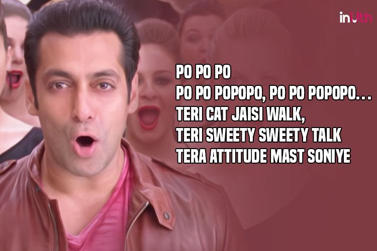 Salman Khan, Po Po, Son of Sardaar