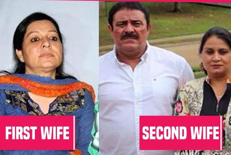 Jograj Singh & his two wives!