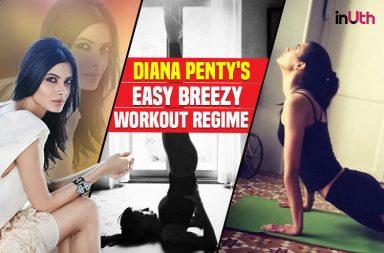 Diana Penty's fitness regime