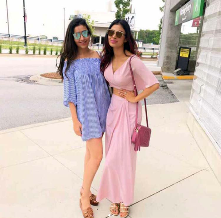 Mouni Roy is making Chicago more beautiful